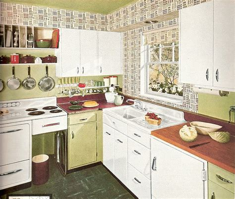 50s Kitchen Ideas 1950s Kitchen Style Afreakatheart