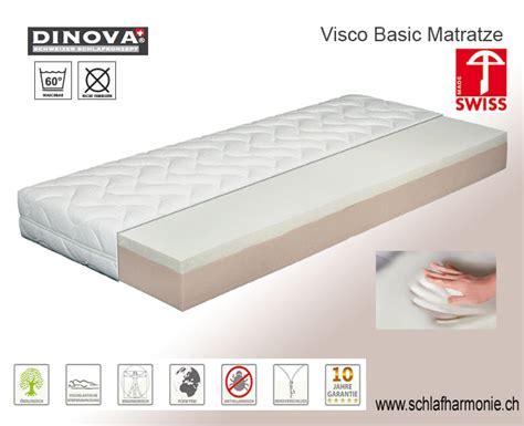 visco matratze matratze visco basic klimaregulierende moderne und