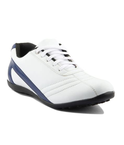 i sole white faux leather casual shoes price in india buy