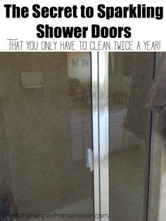 Cleaning Shower Doors With Wd40 1000 Ideas About Cleaning Shower Doors On Pinterest Lawn Mower Blades Soap Scum And Wd 40