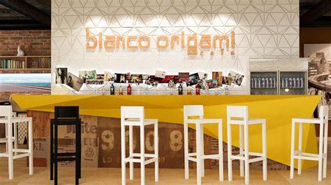 Origami Bar - ivelin atanasov origami cafe