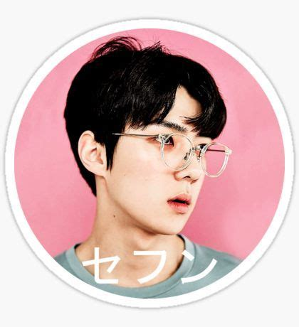 Exo Sehun 94s Sticker By Exo exo kpop stickers sehun exo and kpop