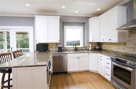 Stacked Stone Backsplash - traditional white with stone backsplash kitchen traditional kitchen other metro by ub