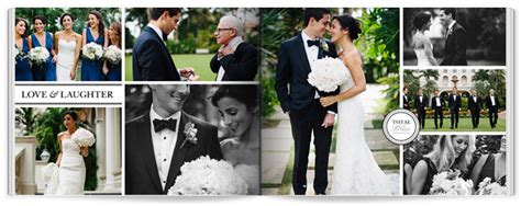 wedding photo book page layout how to make your own wedding album shutterfly