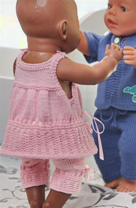free knitting patterns for dolls clothes to baby dolls clothes knitting patterns
