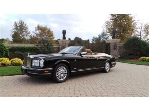 2002 rolls royce corniche buy used 2002 rolls royce corniche last of the line