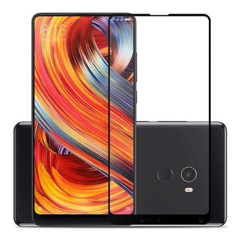 Temperred Glass Xiaomi Mix black xiaomi mix 2 tempered glass 2 5d 0 26mm