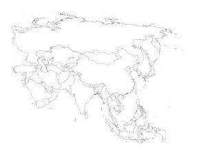 Printable Map Of Asia by Blank Map Of Asia Printable