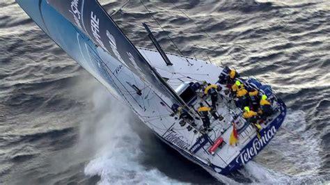team telefonica race highlights volvo ocean race   youtube