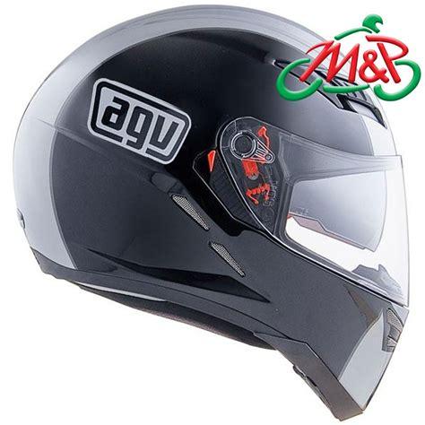 Helm Agv S4 agv s4 sv black silver large xl 62cm motorcycle helmet ebay