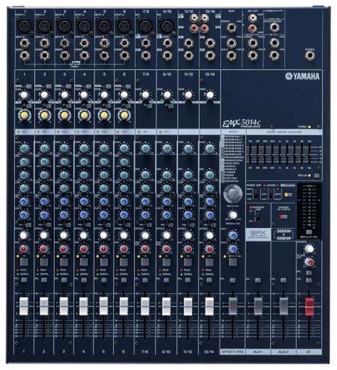 Mixing Console Yamaha Mg82cx yamaha emx5014c console lifiee 2 x 500 watts achat