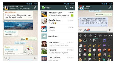whatsapp messenger nouvelle version