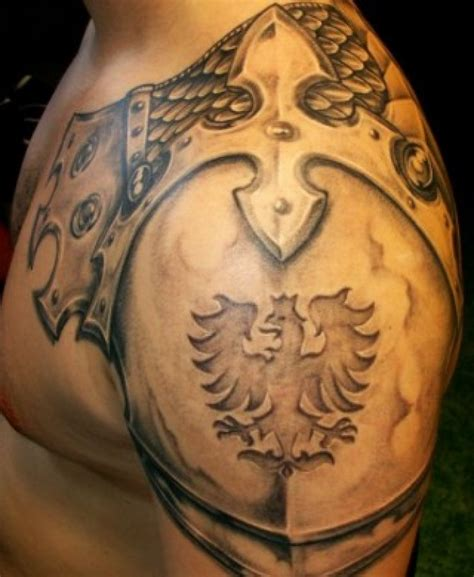 shoulder armor tattoo women tattoo ideas
