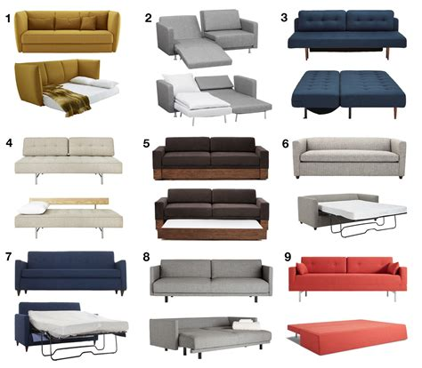 sofa bed designs modern sofa beds and sleeper sofas your guests won t