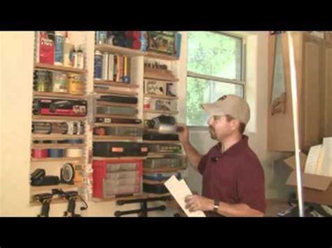 Garage Storage Between Studs How To Build Shelves Between Studs