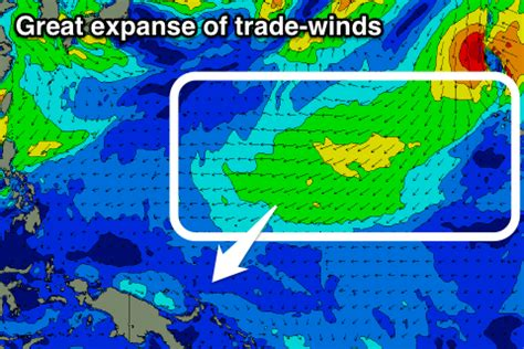 hawaii wind pattern funky swell and winds for hawaii strong trade swell for