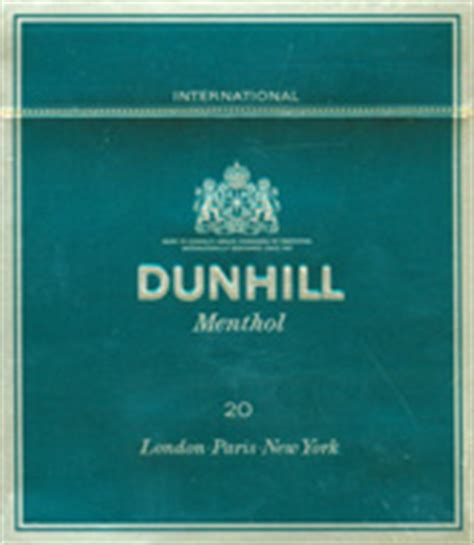 Dunhill International Menthol 20 dunhill international menthol for 28 00 per by kiwicigs