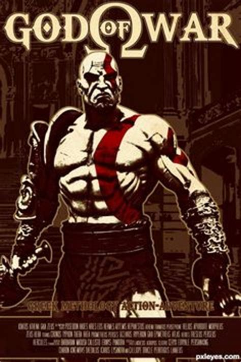 judul film god of war gow kratos by offrecord on deviantart characters