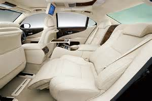 Lexus Ls 460 Reclining Back Seat