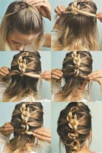 easy updos for shoulder length hair 20 easy updo hairstyles for medium hair pretty designs