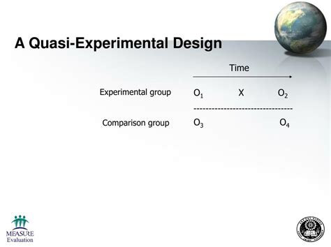 the design is quasi experimental ppt monitoring and evaluation evaluation designs