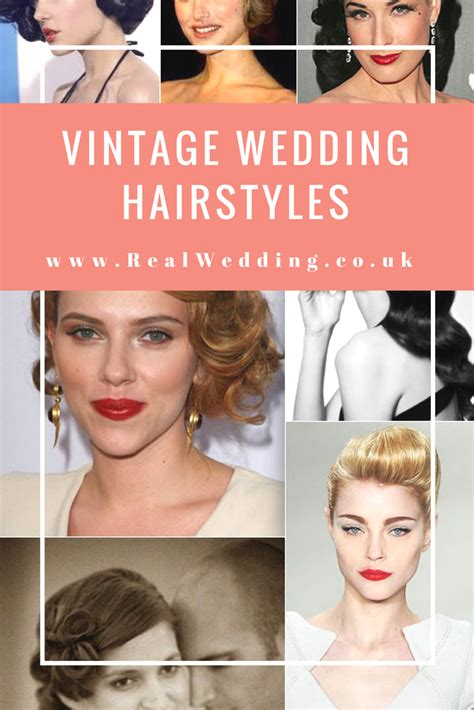 Real Wedding Hairstyles For Hair by Vintage Wedding Hairstyles Real Wedding