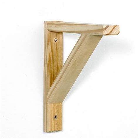 Make Shelf Brackets by Home Dzine Home Diy Diy Shelf Brackets