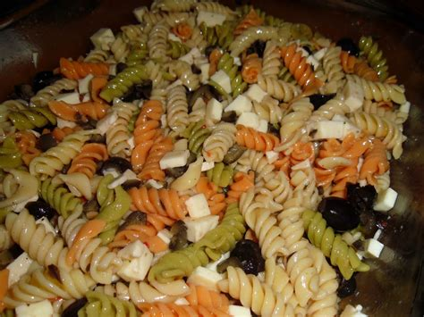 pasta salat easy italian pasta salad little us