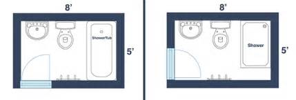 Small Bathroom Dimensions by 7 Awesome Layouts That Will Make Your Small Bathroom More