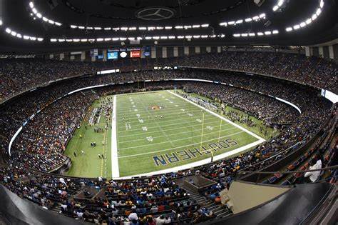 mercedes new orleans master plan set for mercedes superdome football