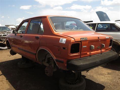 1982 Toyota Tercel Junkyard Find 1982 Toyota Corolla Tercel The
