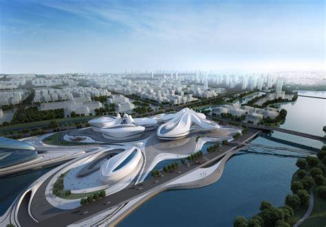 Changsha International Culture & Art Centre - Style Motivation