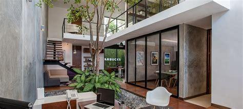 Concrete Loft Modern Office Design Archives Freshome Com