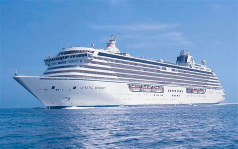 Crystal Serenity Cruise Ship 2018 And 2019 Crystal
