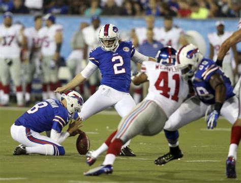 buffalo bills kicker dan carpenter 2 kicks a 51 yard