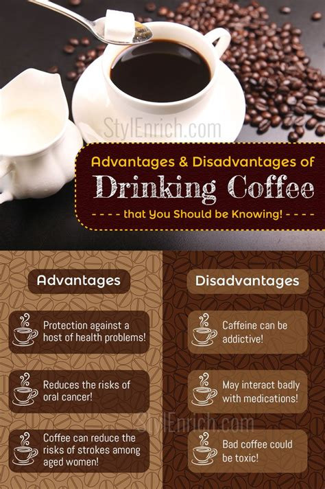 Advantages and Disadvantages of Coffee That You Should Be Knowing!
