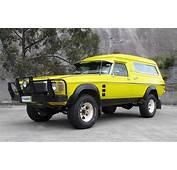 For Sale 1976 Holden HJ Overlander Sandman 4x4
