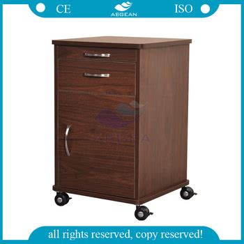 hospital bedside table with drawers ag bc022 wooden hospital bedside table with drawers