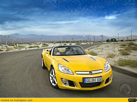gm opel gt gm launches 2007 opel gt roadster autospies auto news