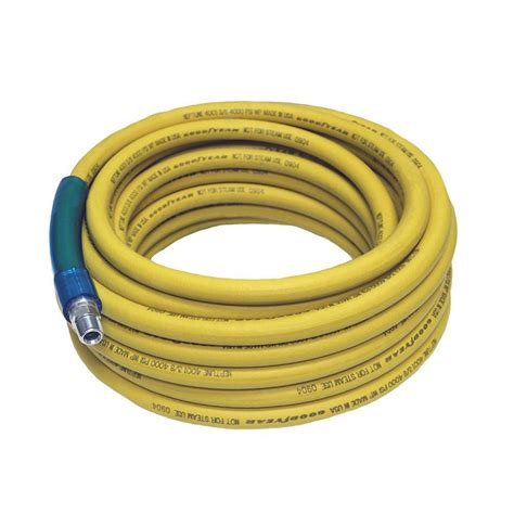 goodyear 50 in x 3 8 in pressure washer hose yellow