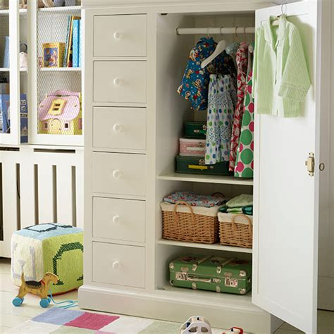 Lemari 07 Farmhouse Multifunction Wardrobe With Cover Lemari Pakaian children s room storage ideas ideal home
