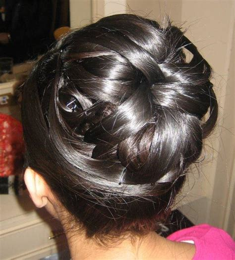 hairstyles for long hair juda video steps of juda style bun hairstyles with pictures within