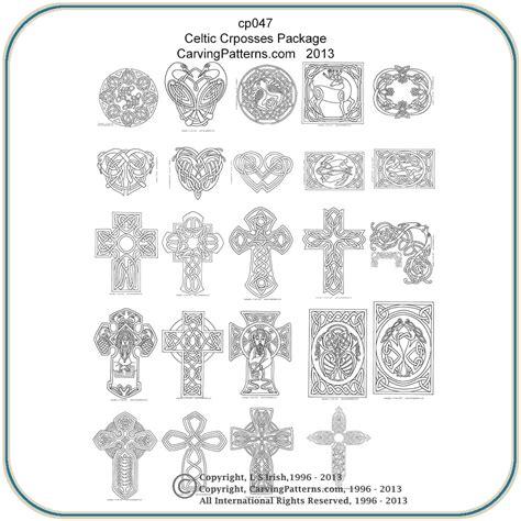 Celtic Crosses & Panels Patterns ? Classic Carving Patterns
