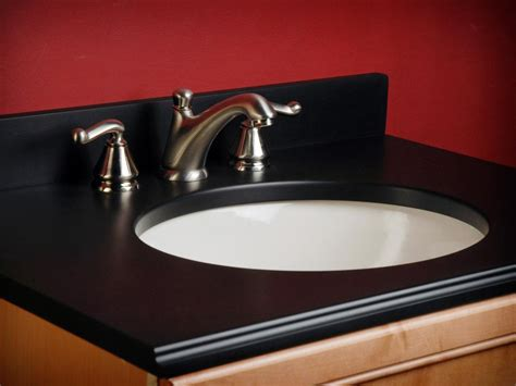 bathroom sink materials bathroom countertop buying guide hgtv