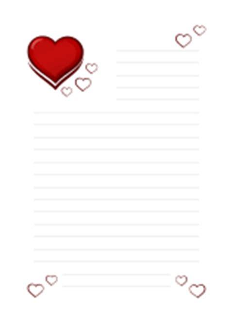 Vorlage Word Umschlag A4 Briefpapier Liebesbrief Herzen Kostenlos Ausdrucken