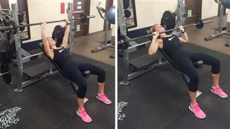 chest incline bench press incline vs flat bench what s most effective