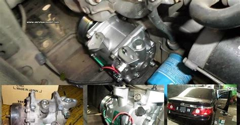replacement compressor honda new city 2007 spesialis ac