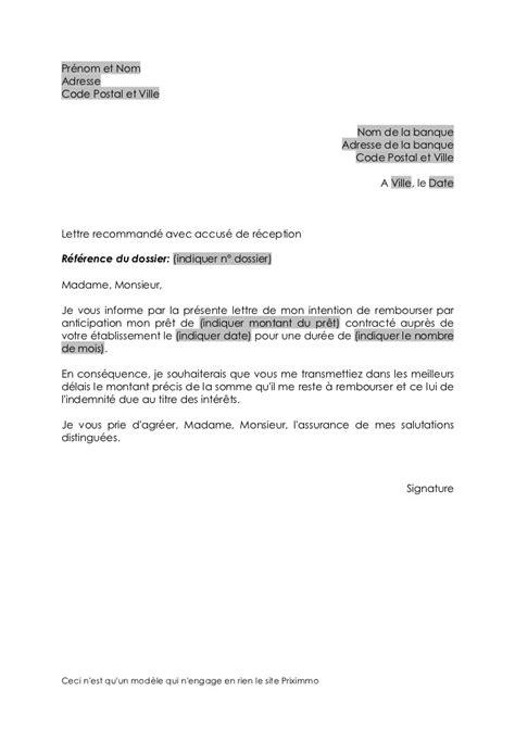 modele lettre reclamation remboursement - Modele de lettre