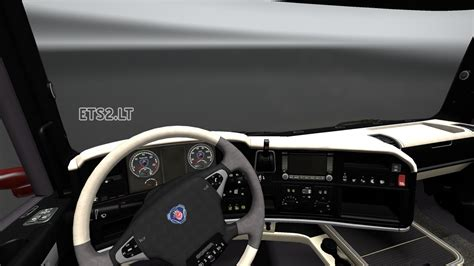 scania streamline exclusive interior with new dashboard
