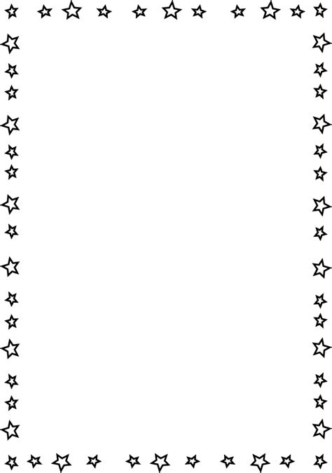 star border coloring page page border this is a completely transparent star page